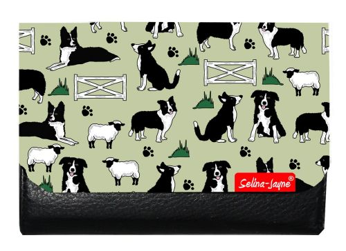Selina-Jayne Border Collies Limited Edition Designer Small Purse